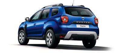 Dacia Duster, färg Blå Iron