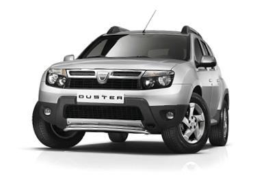 Dacia Duster silver